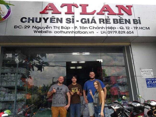 Atlan là Top 10 địa diểm chuyên sỉ áo thun rẻ nhất TPHCM