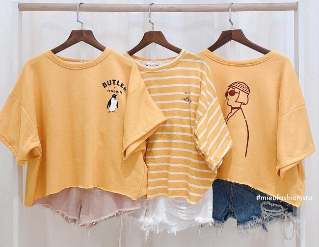 Miều Fashionista là Top 10 địa diểm chuyên sỉ áo thun rẻ nhất TPHCM