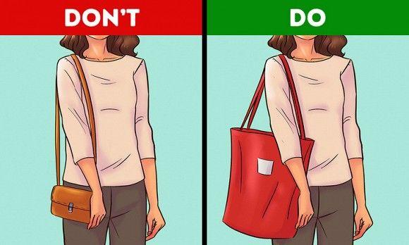 Dáng hình chữ nhật chọn túi như thế nào?