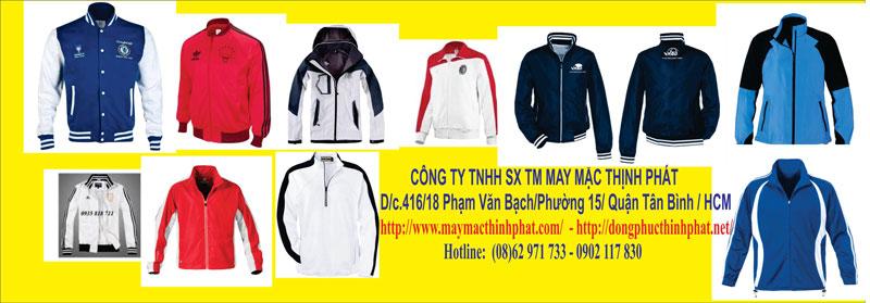 Xưởng may áo khoác Thịnh Phát
